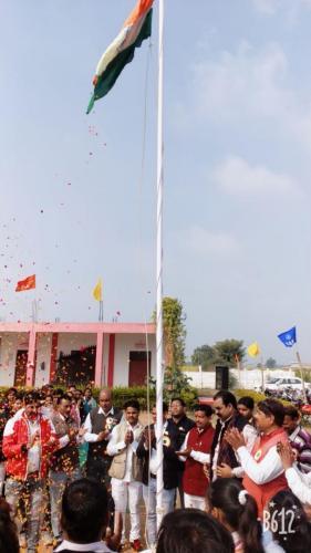 Flag Hosting - Rising A Flag ( 26/01/2019)